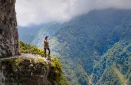 Nomadic Fare at Zhuilu Old Trail, Taroko National Park, Hualien, Taiwan