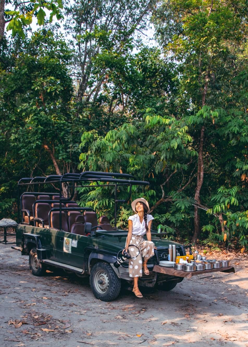 Nomadic Fare in Chitwan National Park