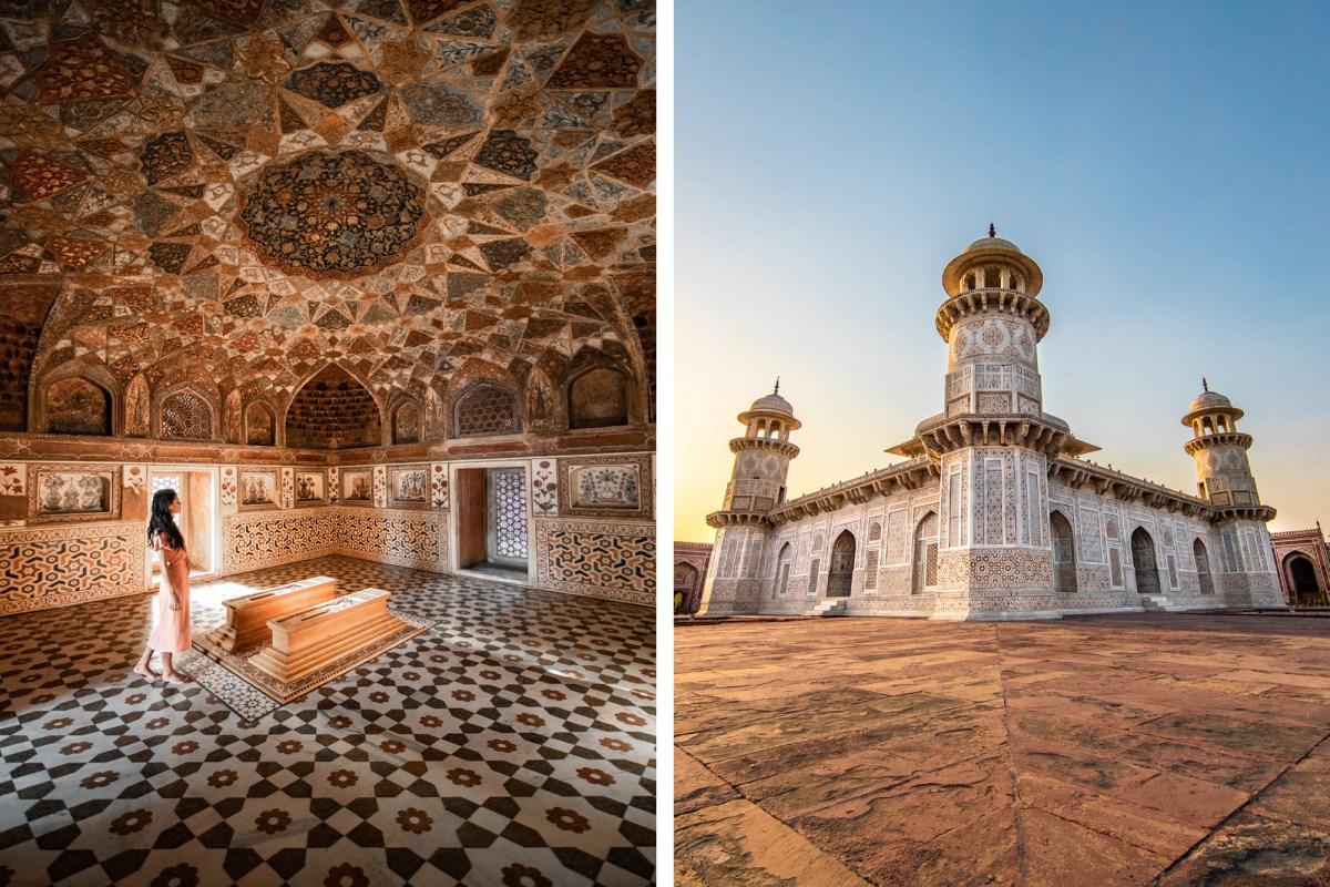 The Baby Taj in Agra, India