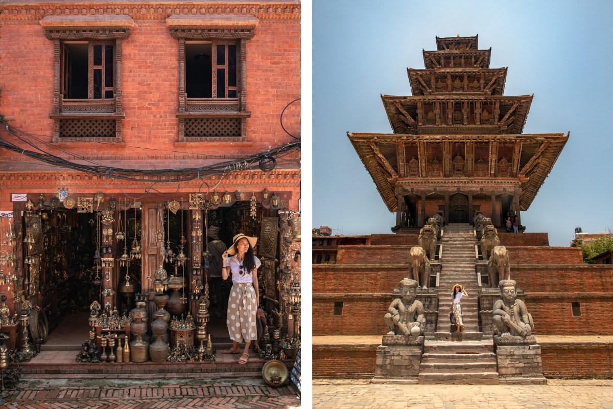 Nomadic Fare in Bhaktapur, Nepal