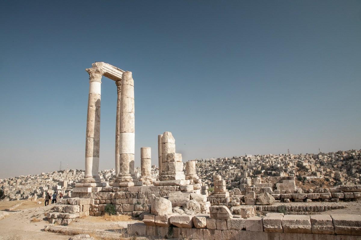 Citadel in Amman, Jordan