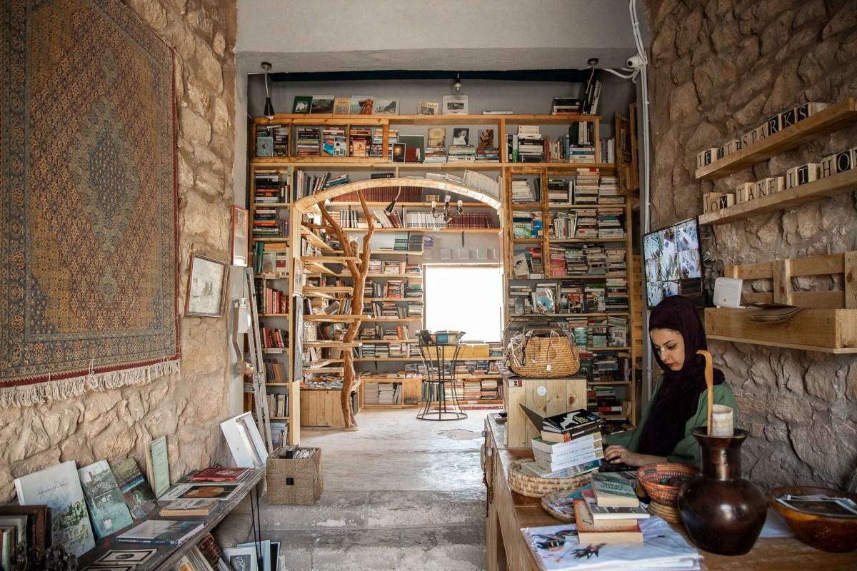 Bookstore in Madaba, Jordan