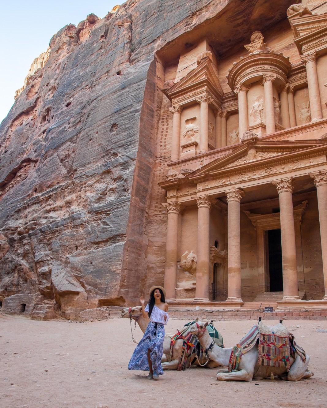 Nomadic Fare in Petra, Jordan