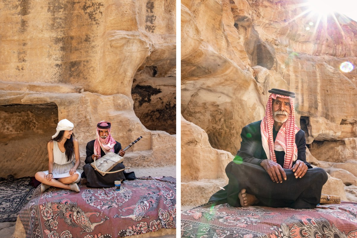 Nomadic Fare in Little Petra