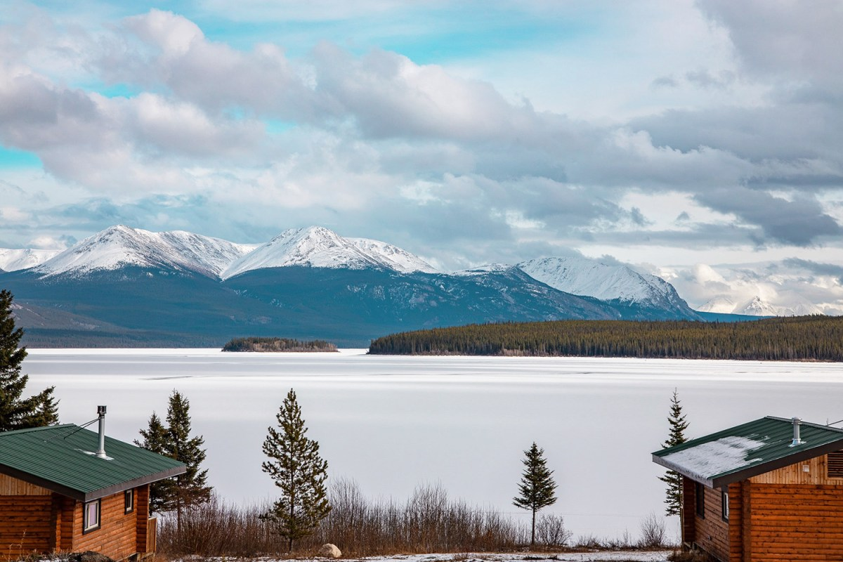 Nomadic Fare in Yukon, Canada at Southern Lakes Resort