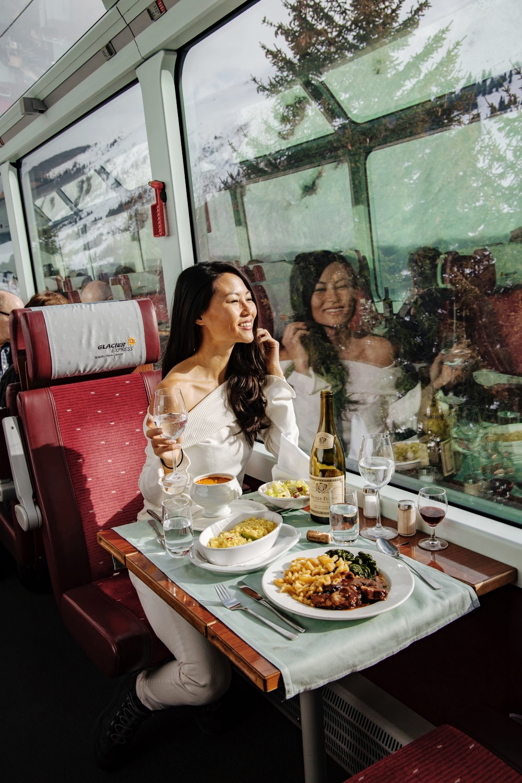 Nomadic Fare on Glacier Express