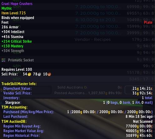 Learning TradeSkillMaster – Nomadic Gamers, eh!