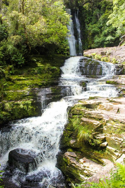 waterfall, Haast Pass