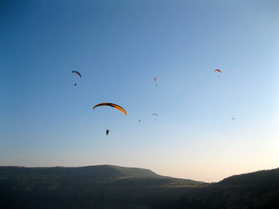 Paragliding Above The Sahyadris