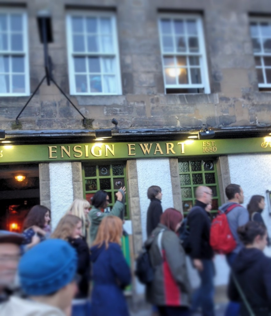 ensign ewart pub, edinburgh