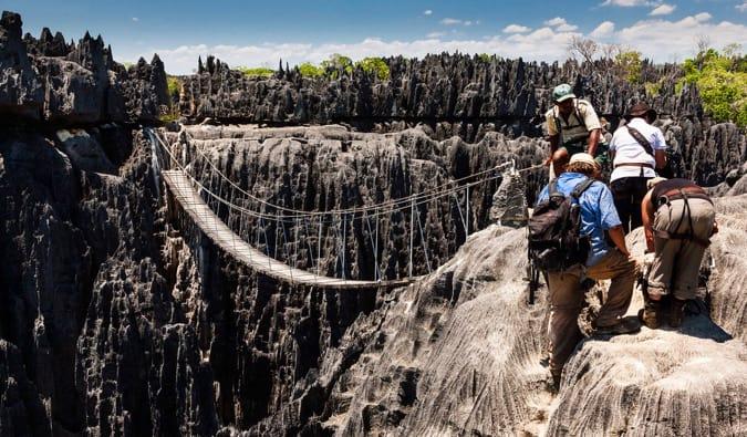 Hiking in Madagascar