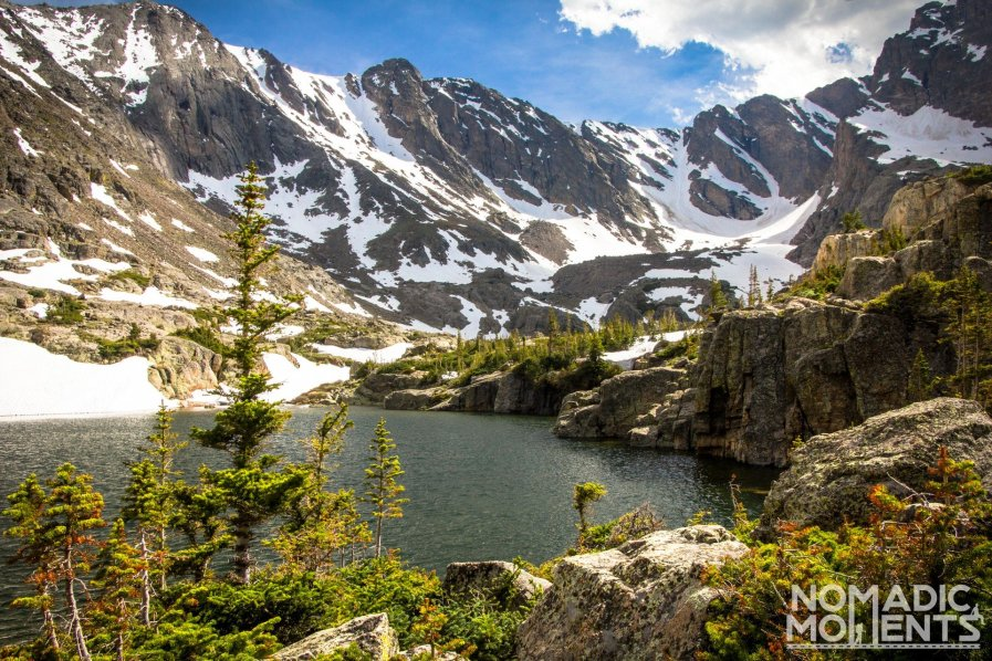 The Lake of Glass in Rocky Mountain National Park