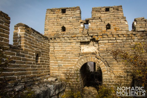 A tower on the Jiankou section of the Great Wall