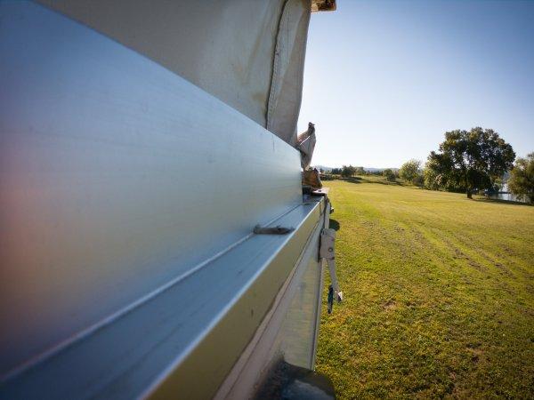 Aluminum Wall Header - Truck Camper Canvas Replacement