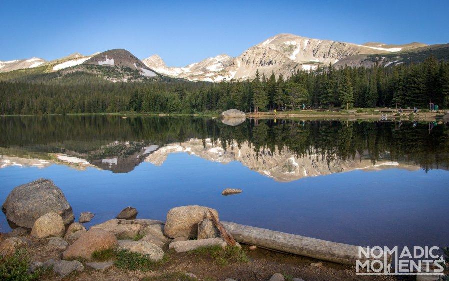 Brainard Lake in the Indian Peaks Wilderness