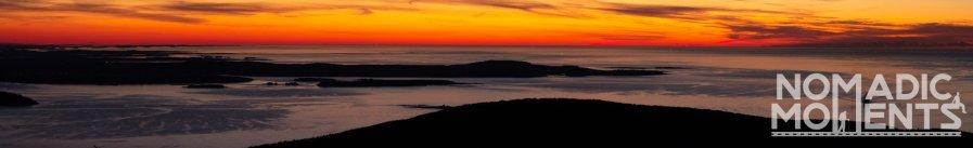 Cadillac Mountain and a Bar Harbor Sunrise