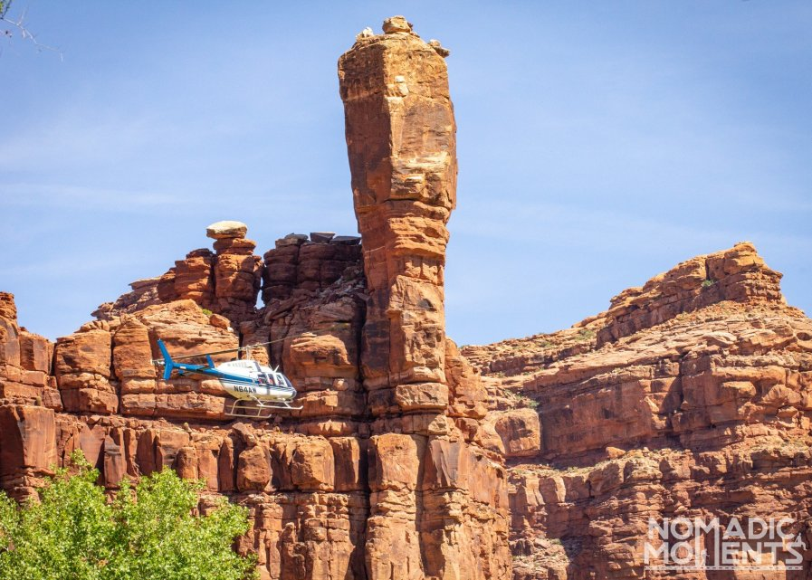 Helicopter to Supai