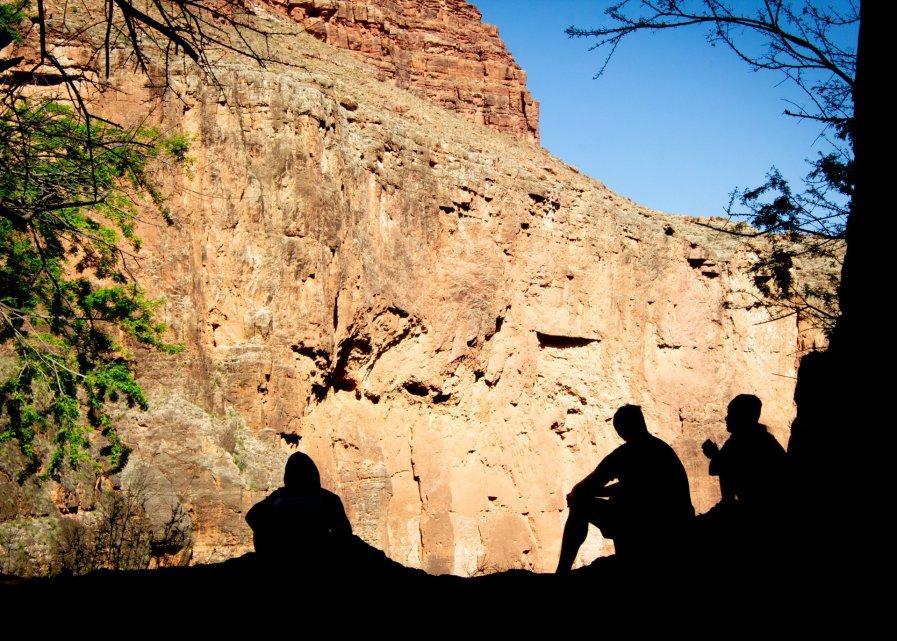 Havasupai Campground Canyon View