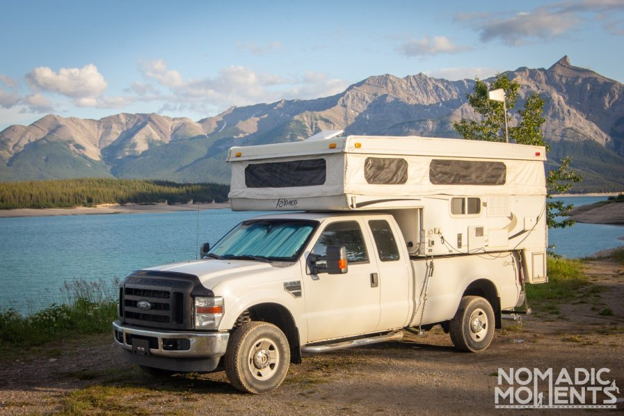 Abraham Lake - Canadian Rockies Campgrounds
