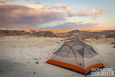 Camping in the Petrified Forest