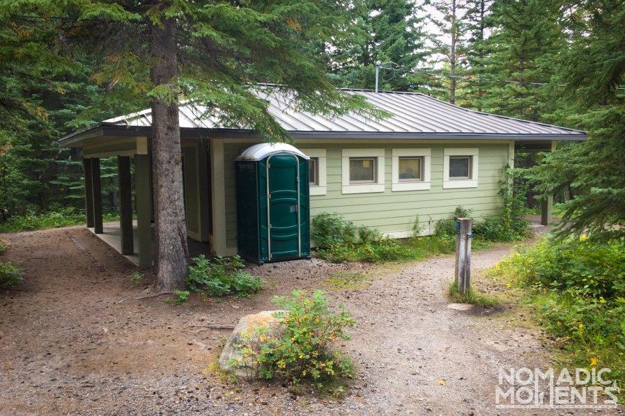 Pocahontas Restroom - Canadian Rockies Campgrounds