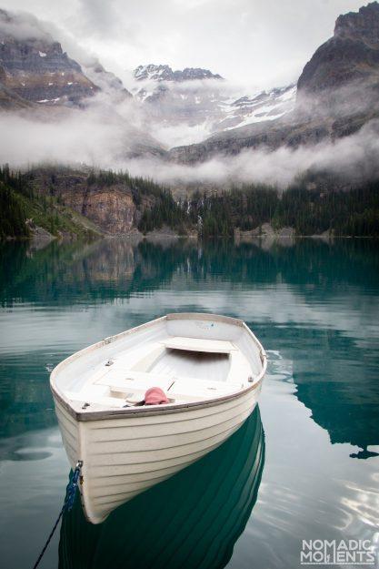 Lake O'Hara Boat