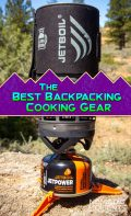 Best Backpacking Cooking Gear Pin