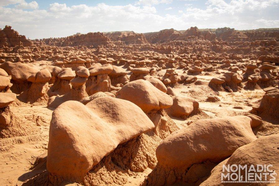 Valley of Mushroom Hoodoos