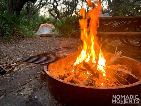Sea Camp Campfire