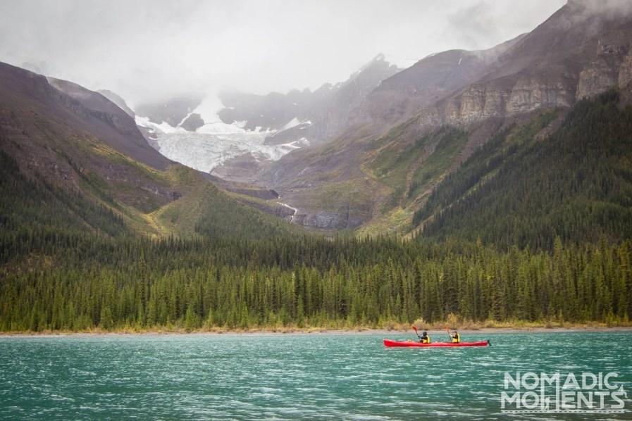 Kayaking Jasper National Park