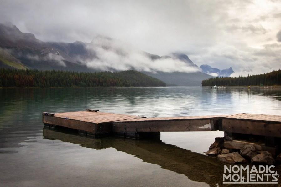 Maligne Lake Boat Launch