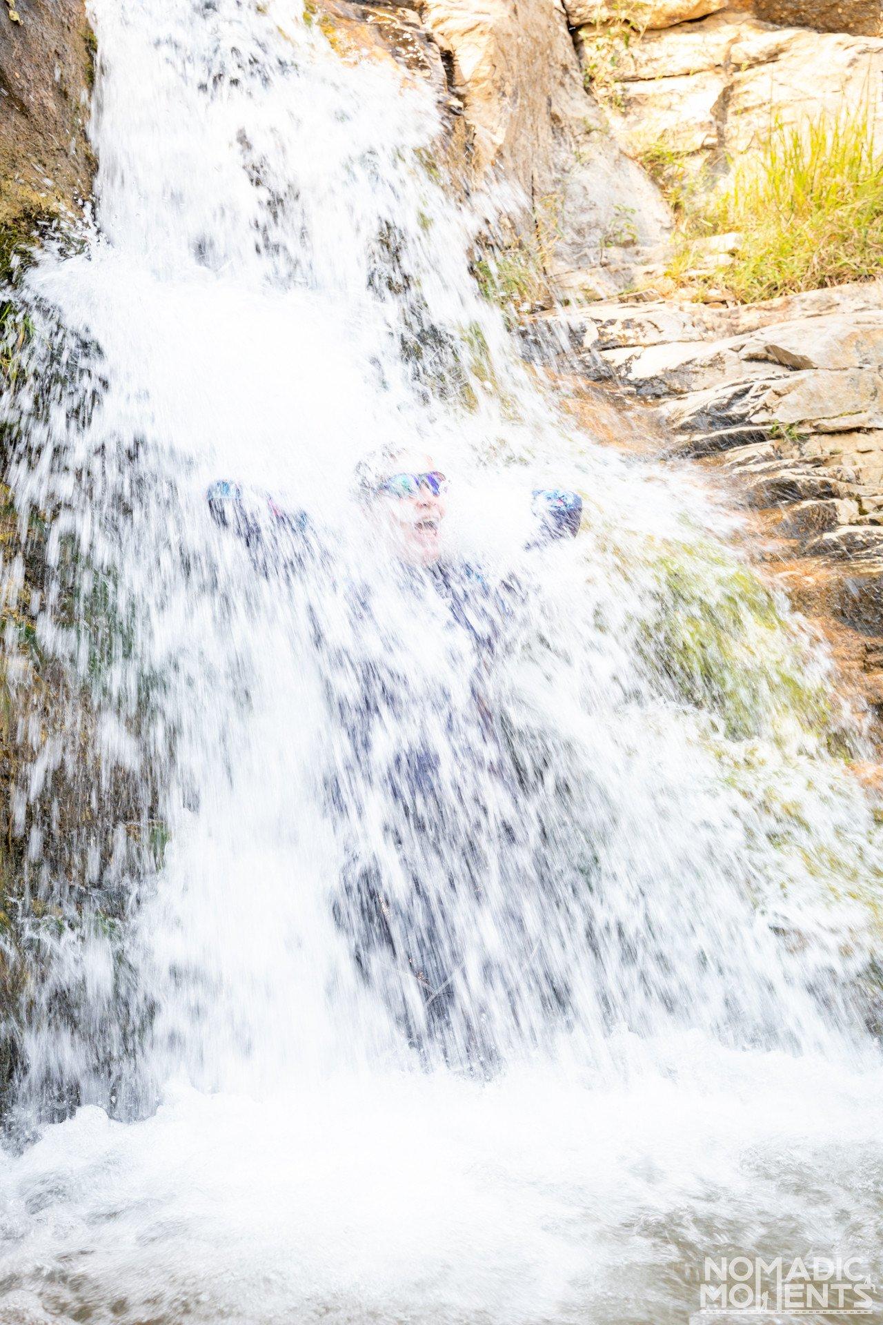 Ely Creek Falls On