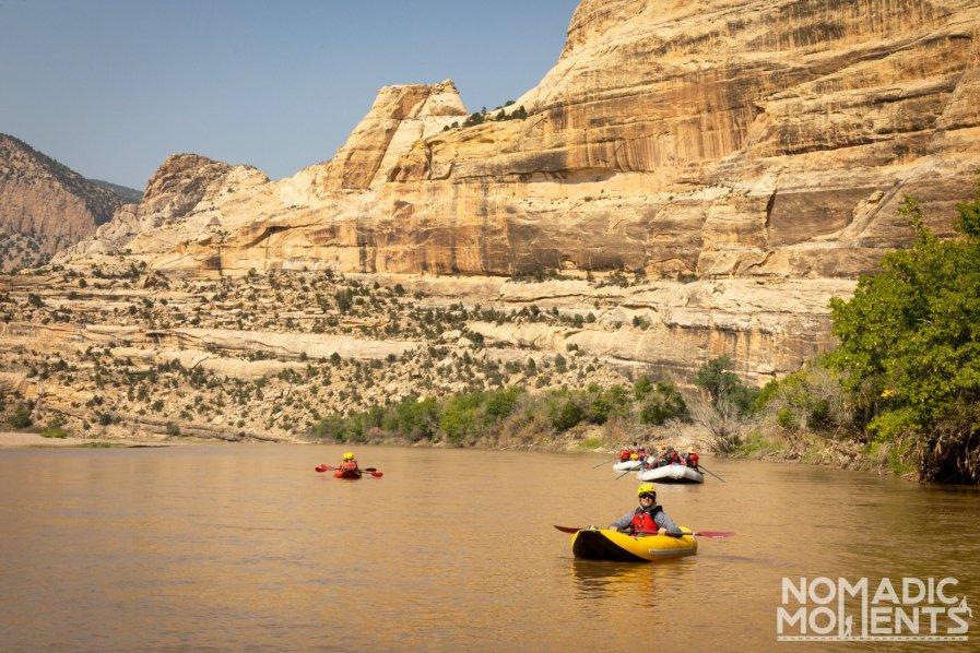 Kayaking Whirlpool Canyon