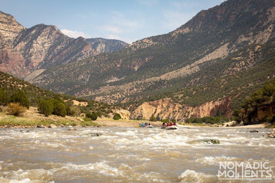 Rafting the Green River thru Dinosaur National Monument