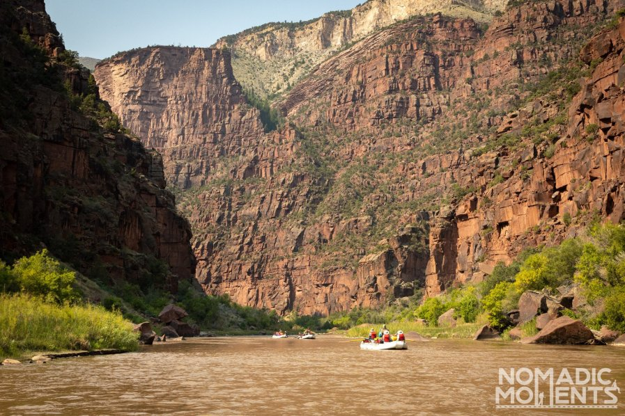Rafting the Green River thru Lodore Canyon - Best of Dinosaur National Monument
