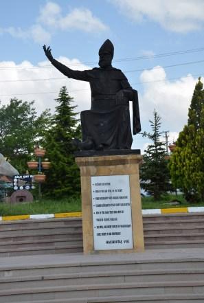 Hacıbektaş monument in Hacıbektaş, Turkey