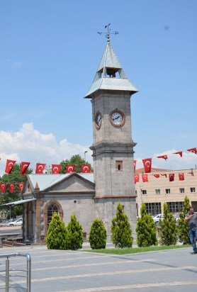 Saat Kulesi in Kayseri, Turkey