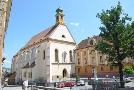 Ursuline Church in Sibiu, Romania