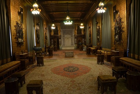 Moorish room at Peleș Castle in Sinaia, Romania