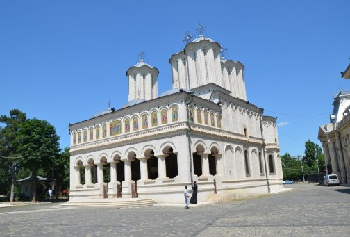 Patriarchal Cathedral in Bucharest, Romania