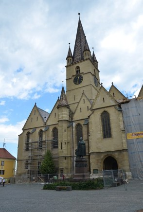 Evangelical Cathedral of St. Mary in Sibiu, Romania