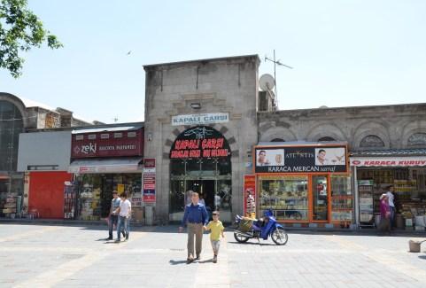 Kapalı Çarşı in Kayseri, Turkey