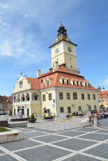 Casa Sfatului in Braşov, Romania