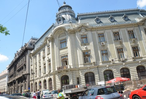 Romanian Commercial Bank in Bucharest, Romania