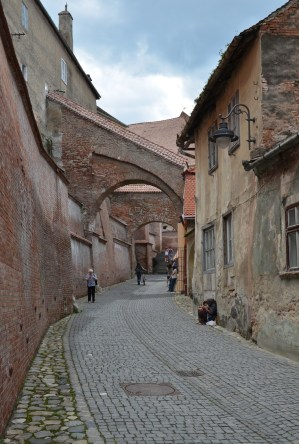 Passage of the Stairs in Sibiu, Romania