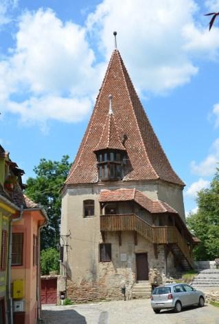 Shoemaker's Tower in Sighişoara, Romania