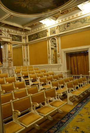 Theatre at Peleș Castle in Sinaia, Romania