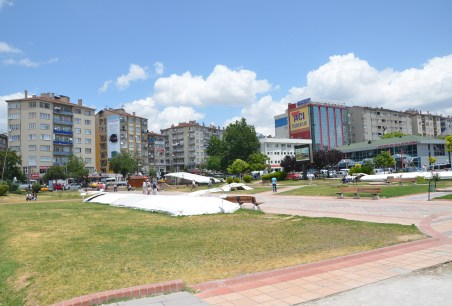Park in Kırşehir, Turkey