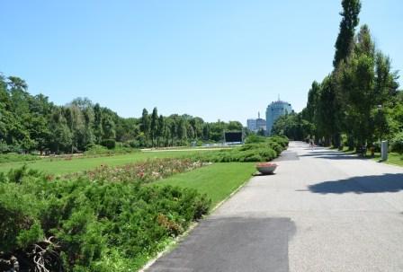 Parcul Herăstrău in Bucharest, Romania