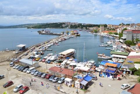 Harbor in Sinop, Turkey